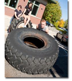 tire-flip